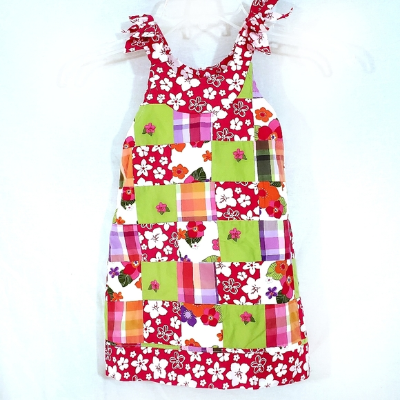 NWT Gymboree Patchwork Quilted Sundress